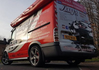 jays-mobile-car-valeting van bishop auckland